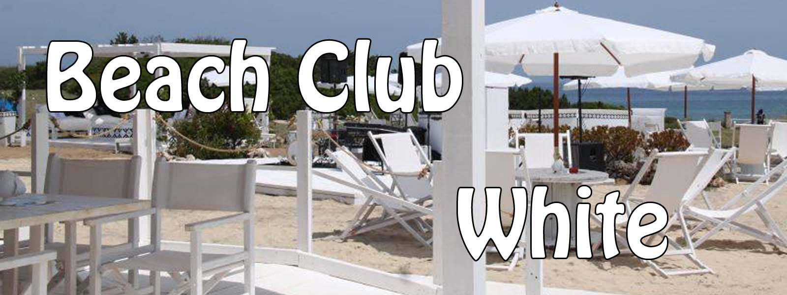 White beach club a Ostuni